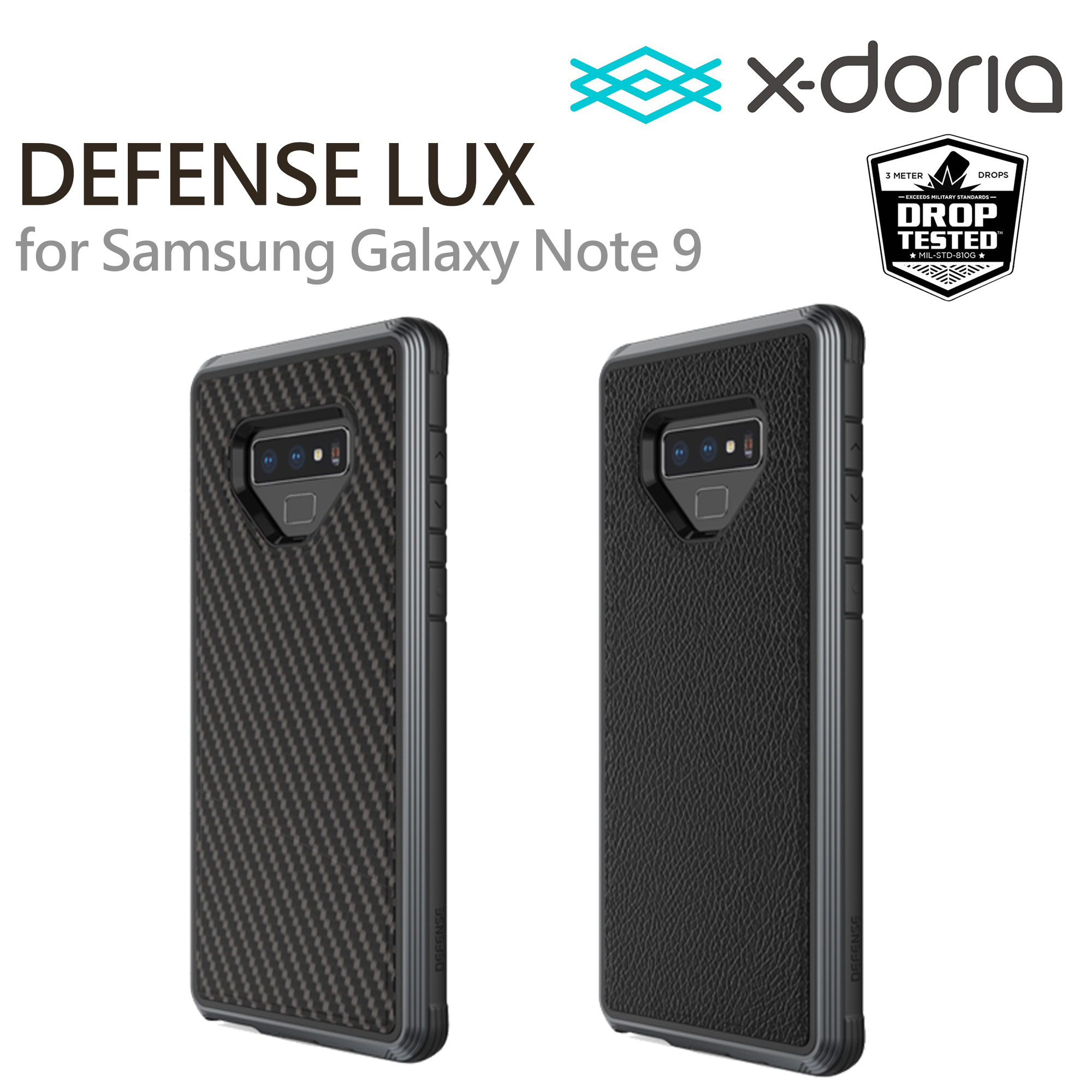 super popular e00aa 730e5 X-doria Defense LUX Samsung Galaxy Note 9
