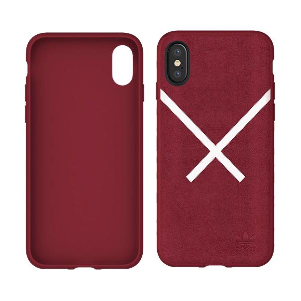 fc170c3c440ebb Adidas Original Suede Cover Hard Case iPhone XS   X - ANEWCASE